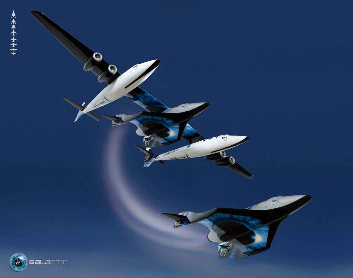 Virgin Galactic's SpaceShipTwo Spacecraft Makes Highest ...